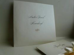 koperty kwadratowe perłowe z personalizacją